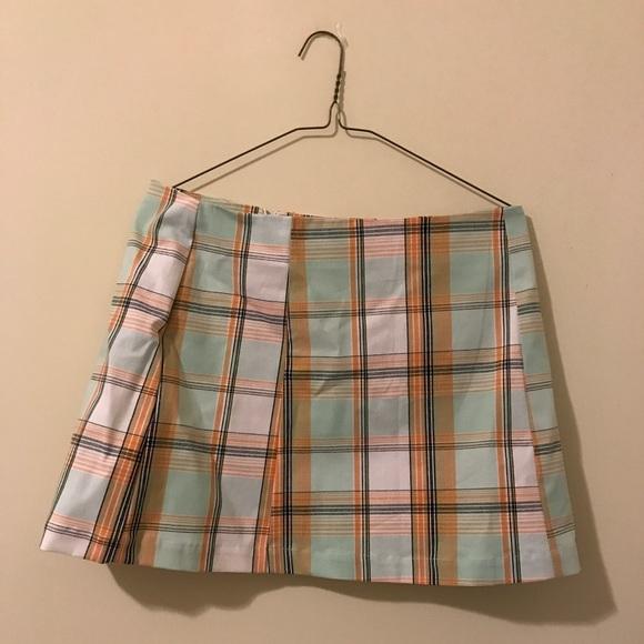 8b1154279 Urban Outfitters Skirts   Urban Renewal Remnants Pastel Plaid Skirt ...
